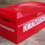 Detonator storage box