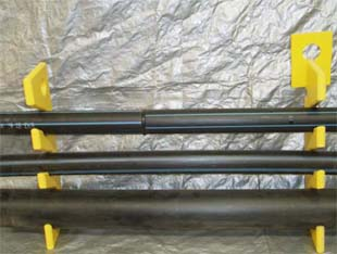 Service pipe hangers