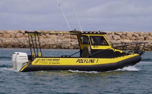 Poly WorkBoat 8m PolyRIB 8000