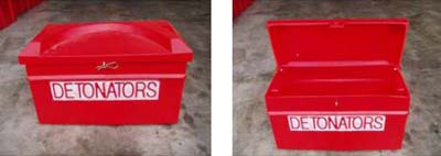 Medium Detonator storage box