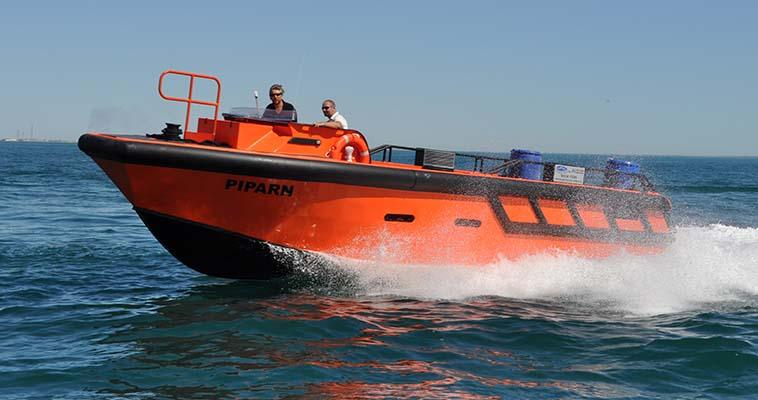Poly Workboat 10.2m custom built