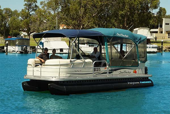 Poly Pontoon for Party Boat