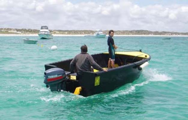 Poly Workboat Conventional Hull 4.5m