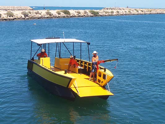 Custom Built Poly Catamaran PolyCAT