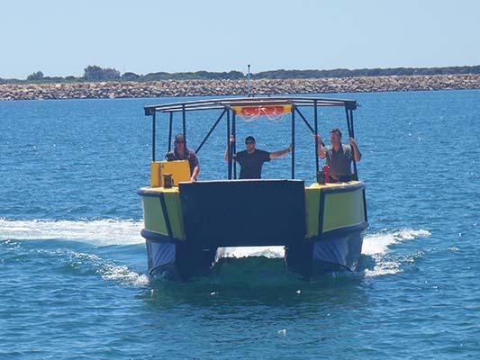 Custom Built Poly Catamaran PolyCAT