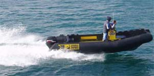 Custom Built Maintenance and Security Vessel PolyRib 6200