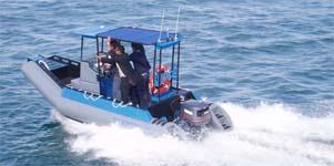 Custom Built Tender Vessel PolyRib 6200