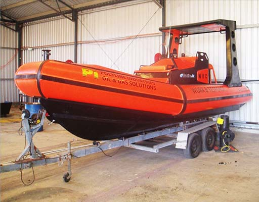 Custom Poly Workboat PolyRib 6600