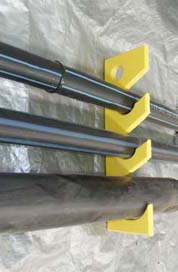HDPE Service Pipe Hanger for underground mining