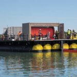 Poly Barge for Oil spill containment