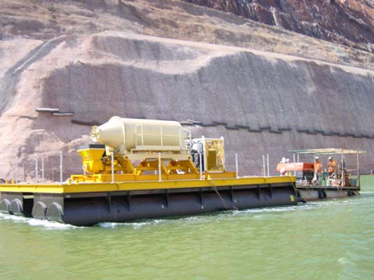 Custom Made Poly Pontoon for Mining