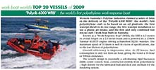 Read Work Boat World's article on Polyline's POLYRIB 6300