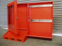 HDPE Lock out cabinet