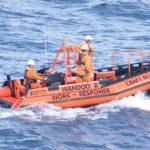 Custom Poly Workboat PolyRib 6300 on water