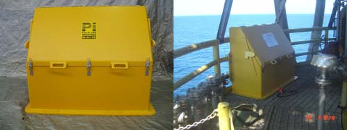 Weather proof riser toolbox