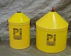 HDPE rope coil storage bins dispenser