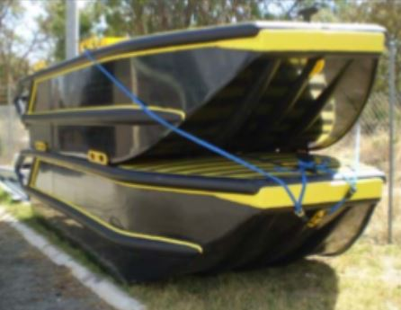 Poly tuff punt dinghy 5.5m