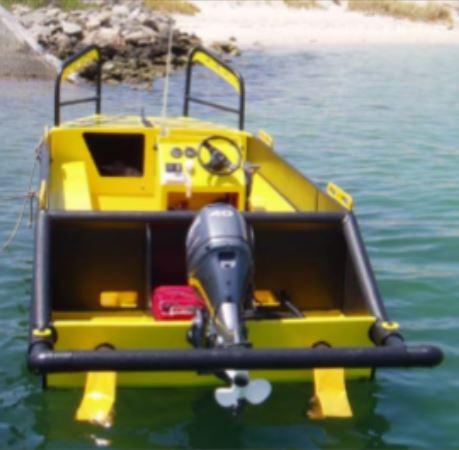 Poly tuff punt dinghy 5.5m