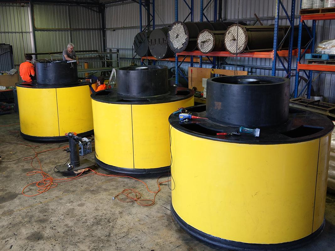 Fabrication of Buoys