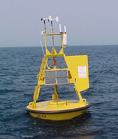 buoy for weather station