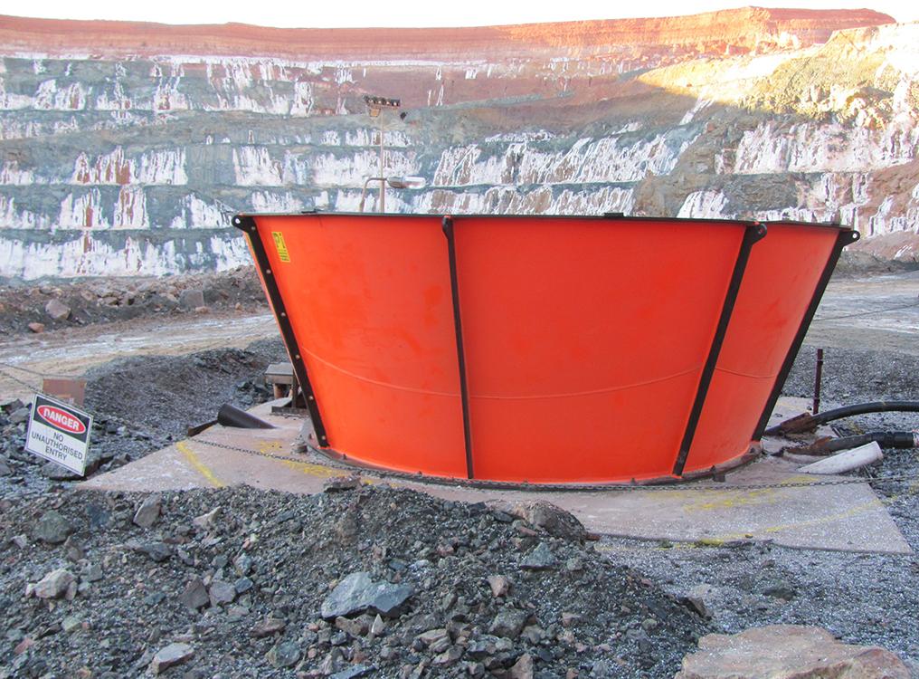 Intake Vasse/Cone - Primary Ventilation - Mining Underground