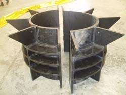 HDPE oil rig conductor clamps
