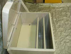 Poly storage Box for Flame Screens
