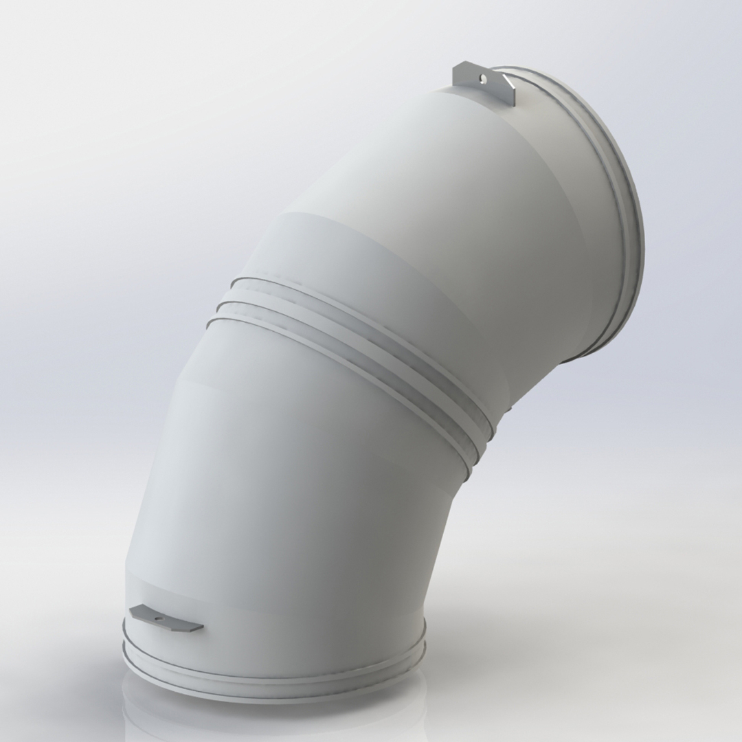 HDPE Ducting 90° Bend